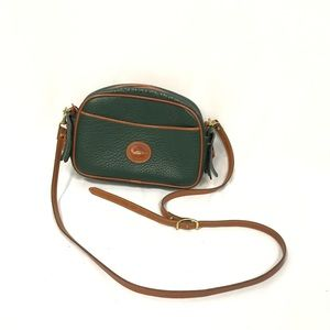 Dooney & Burke Green All Weather Leather